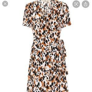Diane von Furstenberg Savilla Mini Wrap Dress